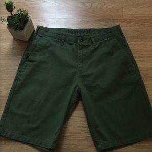 Hurley Green Shorts